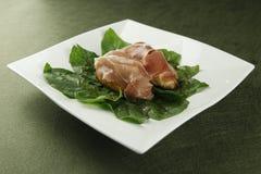Rotolo del bacon Fotografia Stock Libera da Diritti