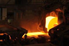 Rotolo d'acciaio caldo Immagine Stock Libera da Diritti