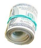 Rotolo dei dollari Fotografie Stock Libere da Diritti