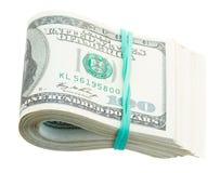 Rotolo dei dollari Fotografia Stock Libera da Diritti