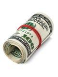 Rotolo dei dollari Fotografie Stock