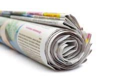 Rotolo dei giornali immagine stock libera da diritti