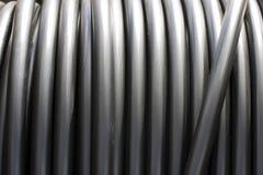 Rotolo dei tubi del metallo Fotografia Stock Libera da Diritti