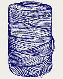 Rotolo del cavo della cordicella Fotografia Stock Libera da Diritti