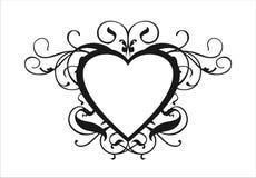 Rotolo del cuore Fotografie Stock Libere da Diritti