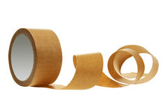 Rotolo del nastro dell'imballaggio Immagini Stock
