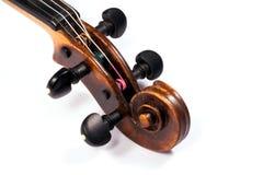 Rotolo del violino Fotografia Stock