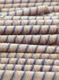 Rotolo del wafer Fotografia Stock