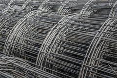 Rotolo dell'acciaio della rete metallica Immagine Stock Libera da Diritti