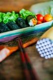Rotolo dell'insalata Fotografie Stock Libere da Diritti