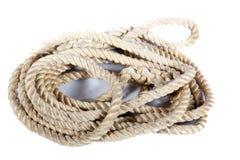 Rotolo della corda Fotografia Stock