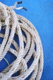 Rotolo della corda Immagine Stock