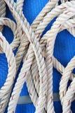 Rotolo della corda Fotografia Stock Libera da Diritti