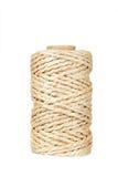 Rotolo della corda della canapa immagine stock