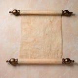 Rotolo della pergamena Fotografie Stock