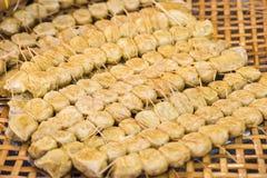 Rotolo della polpa di granchio Fotografie Stock Libere da Diritti
