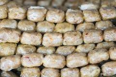 Rotolo della polpa di granchio Immagini Stock Libere da Diritti