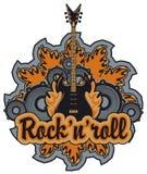 Rotolo della roccia N Fotografia Stock Libera da Diritti