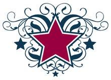 Rotolo della stella Fotografia Stock Libera da Diritti