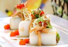 Rotolo della tagliatella di riso di hakka del cinese tradizionale immagini stock