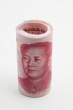 Rotolo delle fatture cinesi Fotografia Stock Libera da Diritti