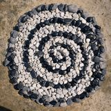 Rotolo delle pietre Immagine Stock