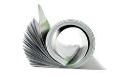 Rotolo dello scomparto fotografia stock libera da diritti