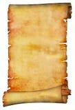Rotolo di carta antico Immagine Stock Libera da Diritti