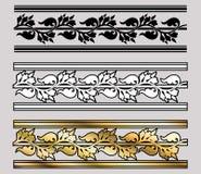 Rotolo di disegno di stile di Vicrtorian Fotografia Stock Libera da Diritti