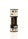 rotolo di film di 120mm immagini stock