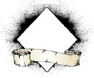 Rotolo di Grunge Fotografia Stock Libera da Diritti