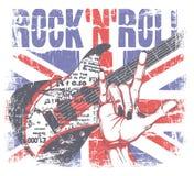 Rotolo di Rockn Fotografie Stock Libere da Diritti