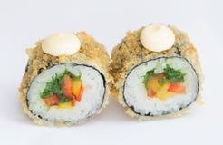 Rotolo di sushi Fotografie Stock Libere da Diritti