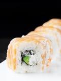 Rotolo di sushi di Filadelfia Immagine Stock Libera da Diritti