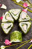 Rotolo di sushi di Maki Fotografie Stock Libere da Diritti