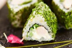 Rotolo di sushi di Maki Fotografie Stock