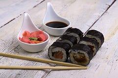 Rotolo di sushi Immagine Stock