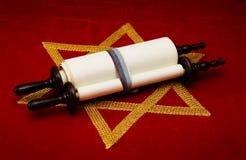 Rotolo ebreo Fotografie Stock Libere da Diritti