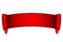 Rotolo rosso Fotografie Stock Libere da Diritti