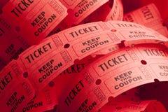 Rotolo sudicio del biglietto fotografie stock libere da diritti