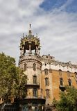 Rotonda architecture of Barcelona Spain Royalty Free Stock Photography