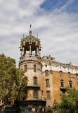 Rotonda architecture of Barcelona Spain. Beautiful architecture of Barcelona Catalonia Spain royalty free stock photography