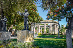 Rotonda de los Jalisciences Ilustres - Guadalajara, Jalisco, México fotos de stock royalty free