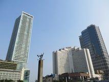 Rotonda dell'Indonesia dell'hotel fotografia stock