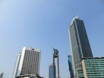 Rotonda dell'Indonesia dell'hotel immagini stock