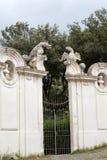Rotonda di Goethe  in Garden of Villa Borghese. Rome, Stock Photography