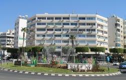 Rotonda di San Nicola a Limassol, Cipro fotografia stock libera da diritti