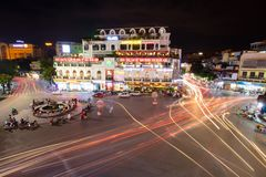 Rotonda famosa di Hanoi immagine stock libera da diritti