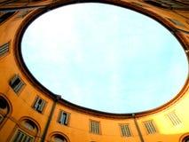 Rotonda Foschini i Ferrara, Italien Royaltyfri Fotografi