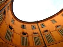 Rotonda Foschini i Ferrara, Italien Arkivbild